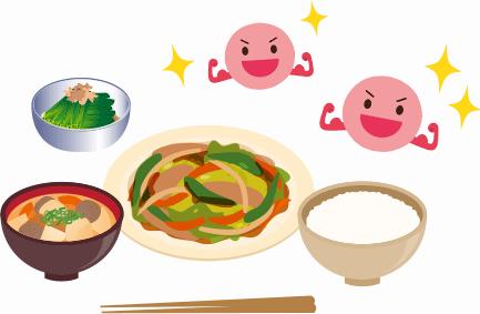 食事を見直すこと。腸内細菌が喜ぶ生活をすること。