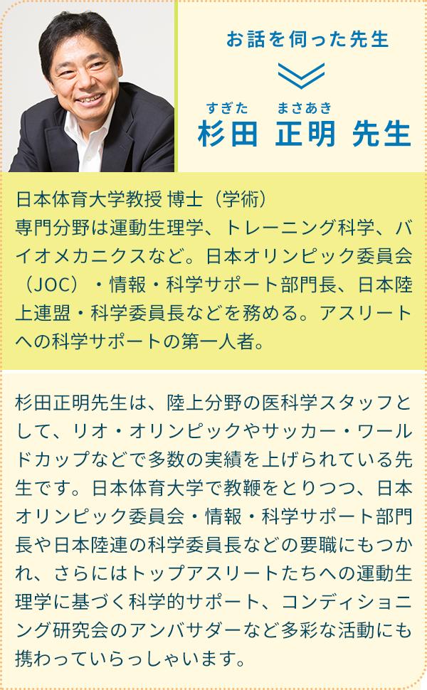 杉田正明先生