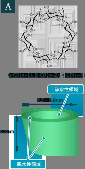 図8. 環状オリゴ糖と粉末化ホタテ由来プラズマローゲン